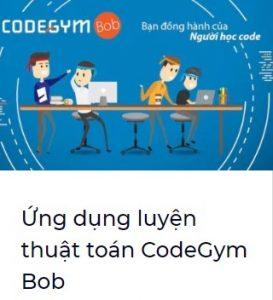 Ứng dụng luyện thuật toán CodeGym Bob